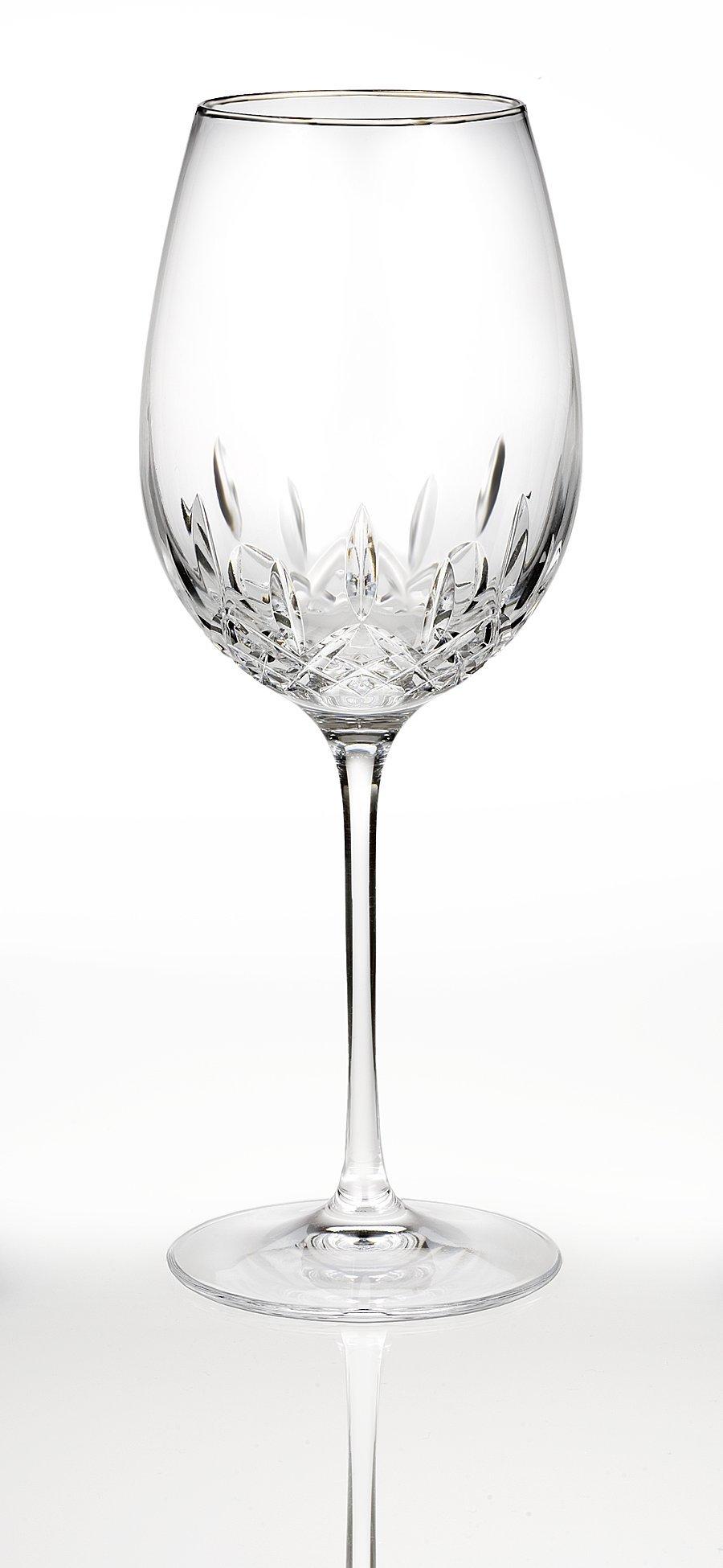 Waterford Lismore Essence Platinum Red Wine/Goblet
