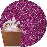 Glitter My World! Craft Glitter: 25lb Box: Rose Sparkler