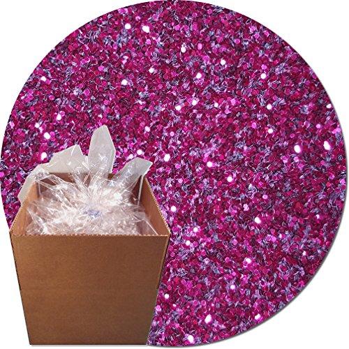 Glitter My World! Craft Glitter: 25lb Box: Rose Sparkler by Glitter My World!