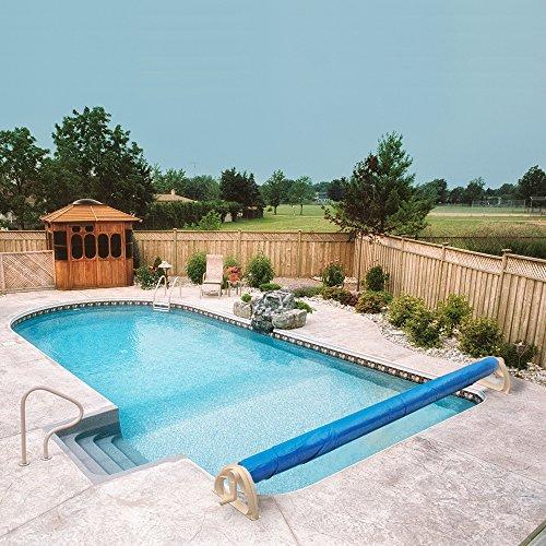 Aqua Splash 16 Ft In Ground Swimming Pool Solar Cover Blanket Reel Buy Online In Uae Lawn