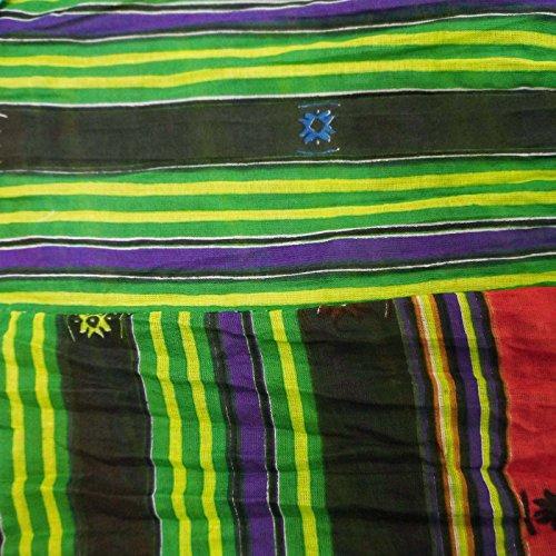 Modelo abstracto de la falda del desgaste del verano de Boho falda larga Multicolor