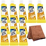 Carbona Stain Devils, Fat & Cooking Oil 1.70 oz, 12-Pack with Cleaning Cloth