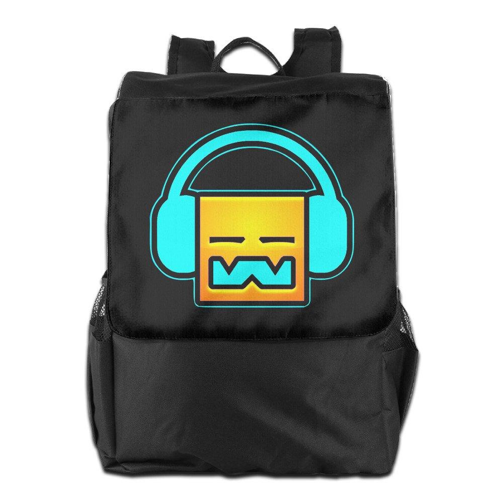 Geometry Dash Robtop Games Outdoor Backpack Travel Bag