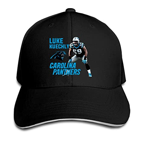 1e6af476 Carolina Panthers #59 Luke Kuechly Super Name Men's Flex Baseball ...