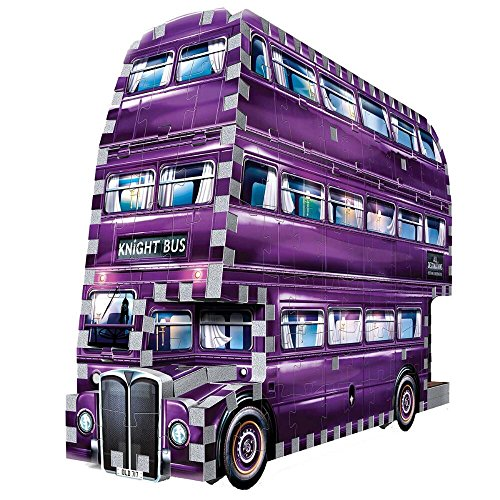 Potter Harry Bus Knight - WREBBIT 3D The Knight Bus 3D Jigsaw Puzzle