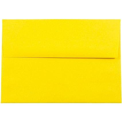 amazon com jam paper a7 colored invitation envelopes 5 1 4 x 7 1