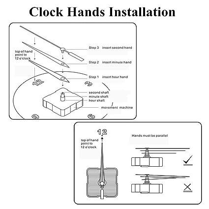 Amazon.com: DIY Acrylic Wall Clock Coffee Cup Teapot 3D Decorative Kitchen Wall Clocks Living Room Dining Room Clock Home House Decor: Home & Kitchen