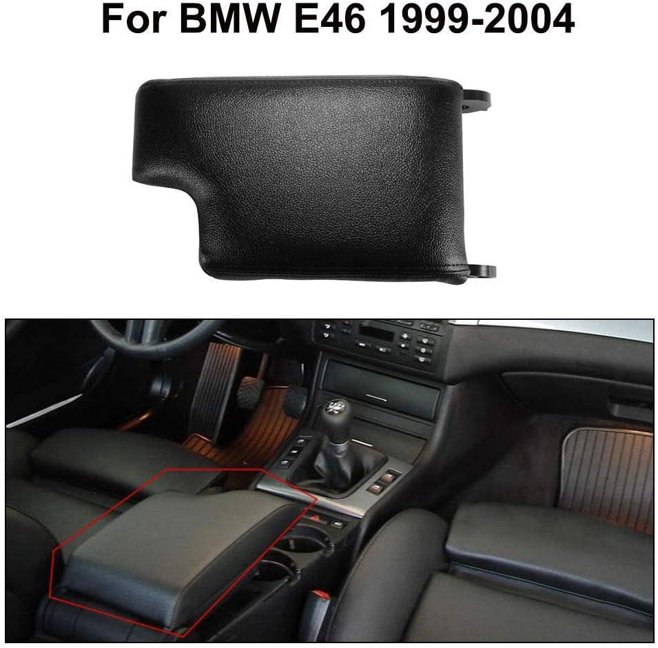 BEESCLOVER Couvercle pour accoudoir Central de Voiture Beige pour BMW S/érie 3 E46 1999-2004
