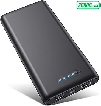 VOOE Batería Externa [26800mAh Versión Más Nueva] Power Bank Carga ...