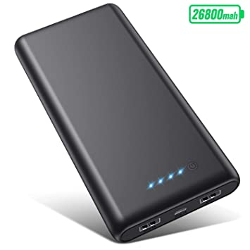 VOOE Batería Externa [26800mAh Versión Más Nueva] Power Bank ...