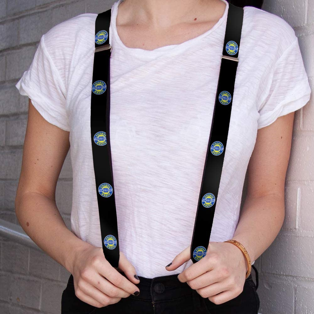 One Size Buckle-Down Mens Suspender-Chevy Multicolor