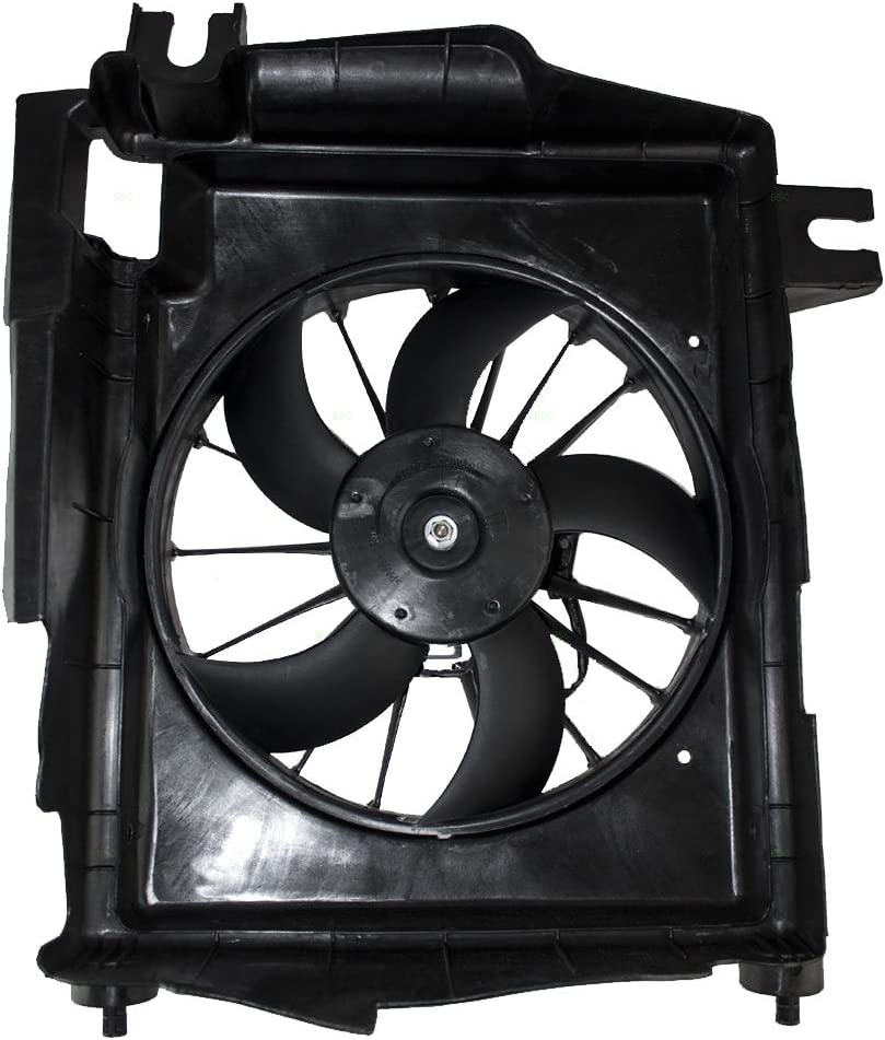 Radiator A//C AC Condenser Cooling Fan /& Motor for Dodge Ram Pickup Truck
