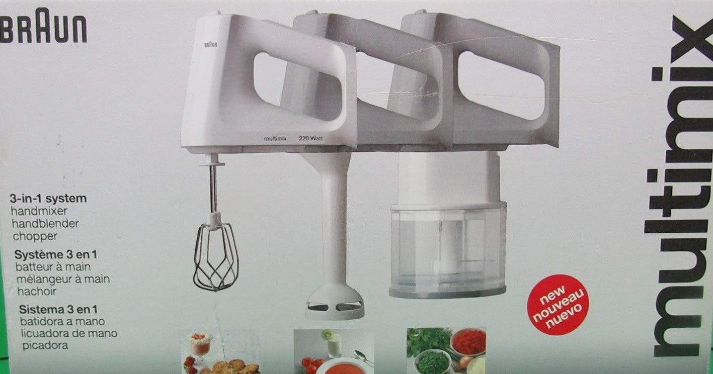 Amazon.com: Braun M870 Multimix 3 In 1 System: Kitchen & Dining