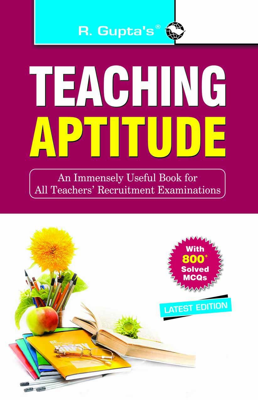 Buy Teaching Aptitude (with MCQ) Book Online at Low Prices