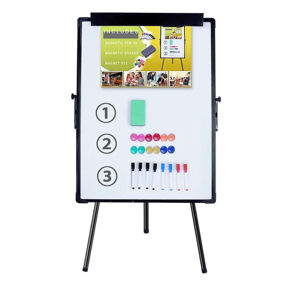 Melamine H-Stand Whiteboard/Adjustable Dry Erase Easel