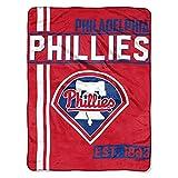 The Northwest Company MLB Philadelphia Phillies Micro Raschel Throw, One Size, Multicolor