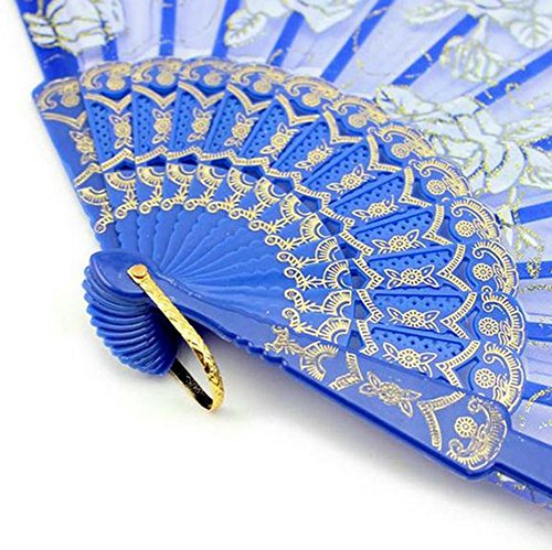Freedi Chinese Japanese Handheld Folding Fan Lace For