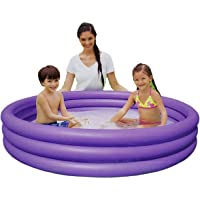 Play Day 51026 Alberca Piscina 3 Aros Inflable 1.65 m x 30 cm Color Violeta