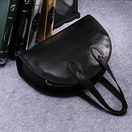 LAAL Le Nouveau Style Atmosphère Femme en-tête de Couche à Main en Cuir européen et américain Minimaliste Cuir Big Bag Messenger Shell Personnalité