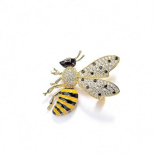 Amazon.com: Jana Winkle Broches de cobre dorado esmalte ...
