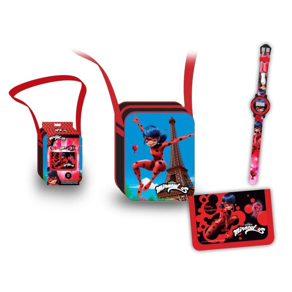 LadyBug Bandolera reloj y billetero Factory