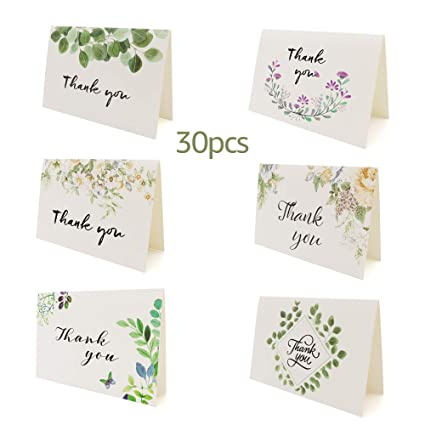 Amazon Com Thank You Cards Bulk Baby And Bridal Shower Thank You