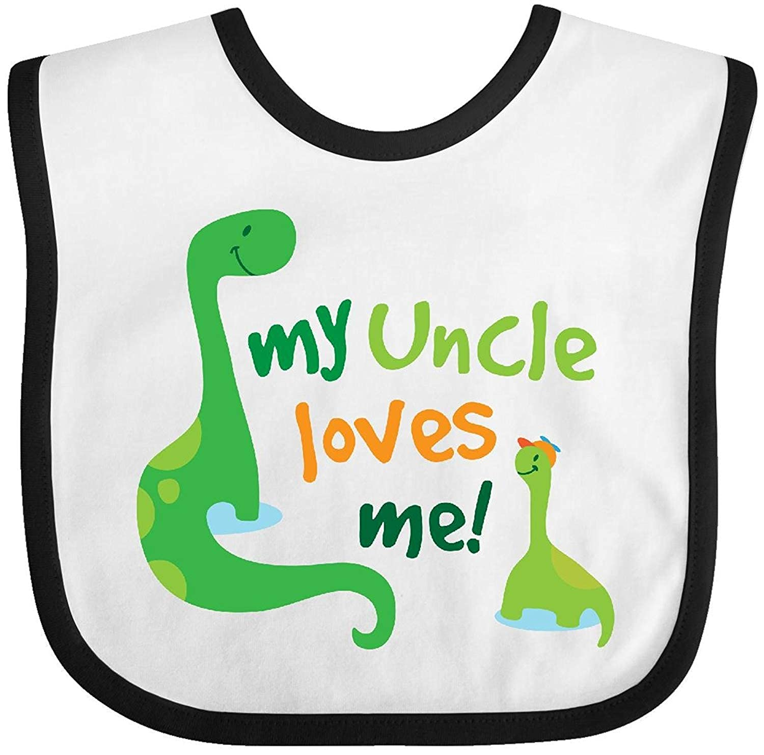 My Uncle Loves Me Baby Bib Degrema rizhaobaifakang