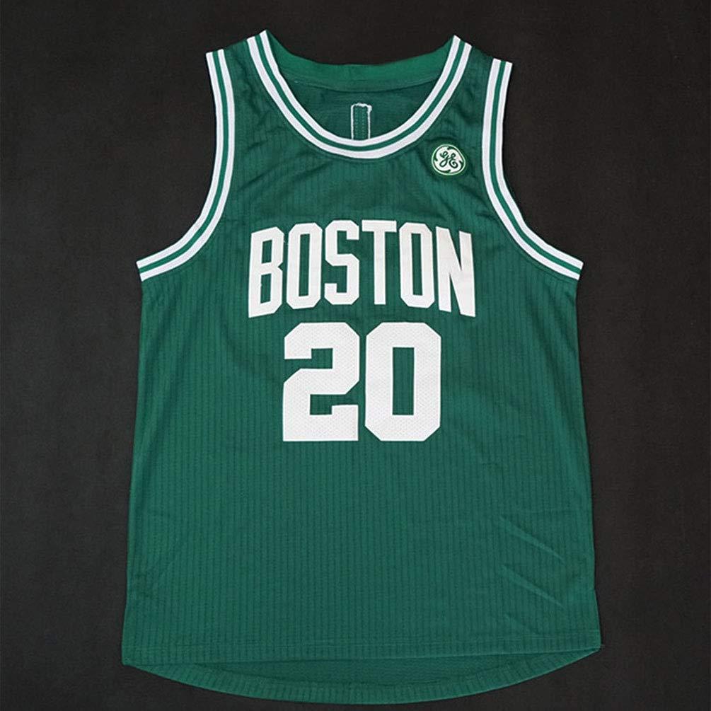 Transpirable c/ómodo Ligero Pilang Baloncesto del Jersey del Jugador Boston Celtics Hayward # 20