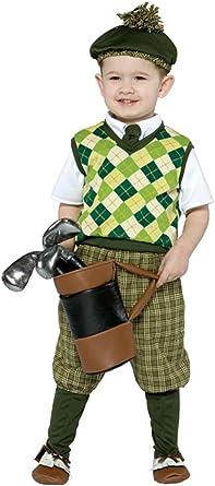 Amazon.com: Futuro Golfista Niño Disfraz, Niño(a) S 4-6x ...