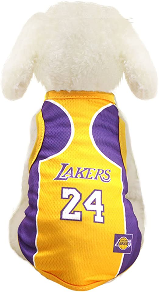 lakers dog jersey Off 64% - www.bashhguidelines.org