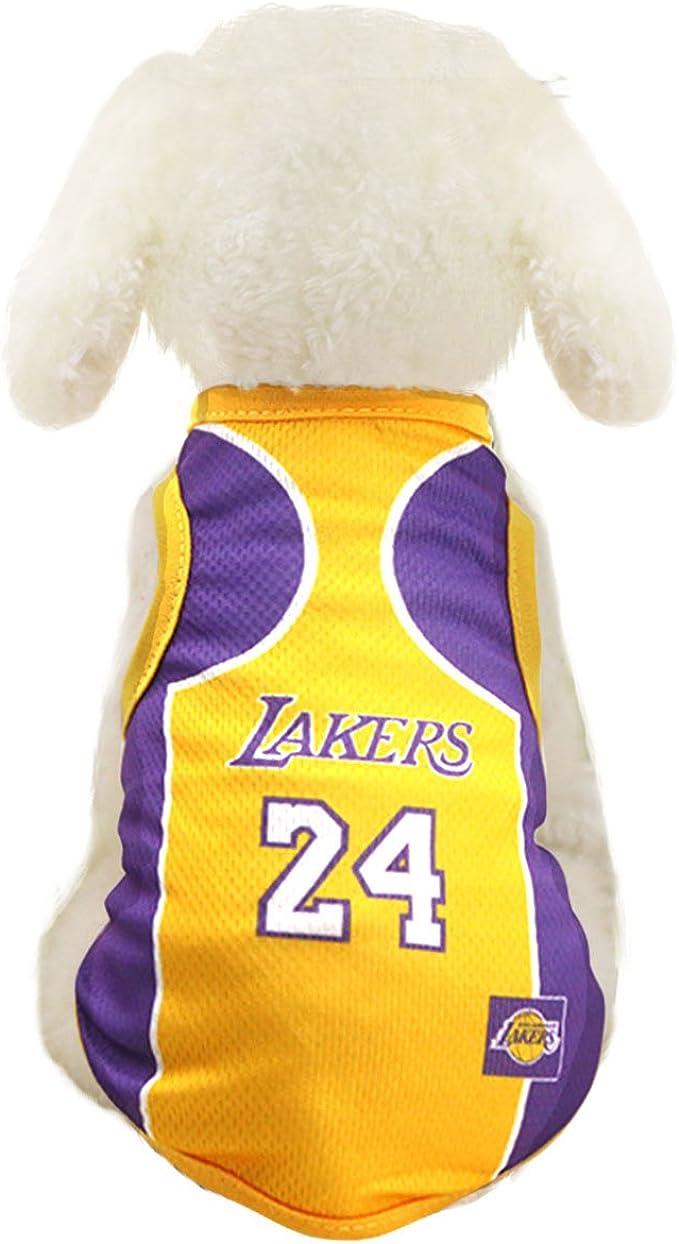 Amazon.com: Ropa de perro baloncesto de la NBA playera ...