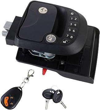 """Safe Garage Door Opener /""""T/"""" Handle Tool Latch with 2 Keys for Caravans/&Trailers"""