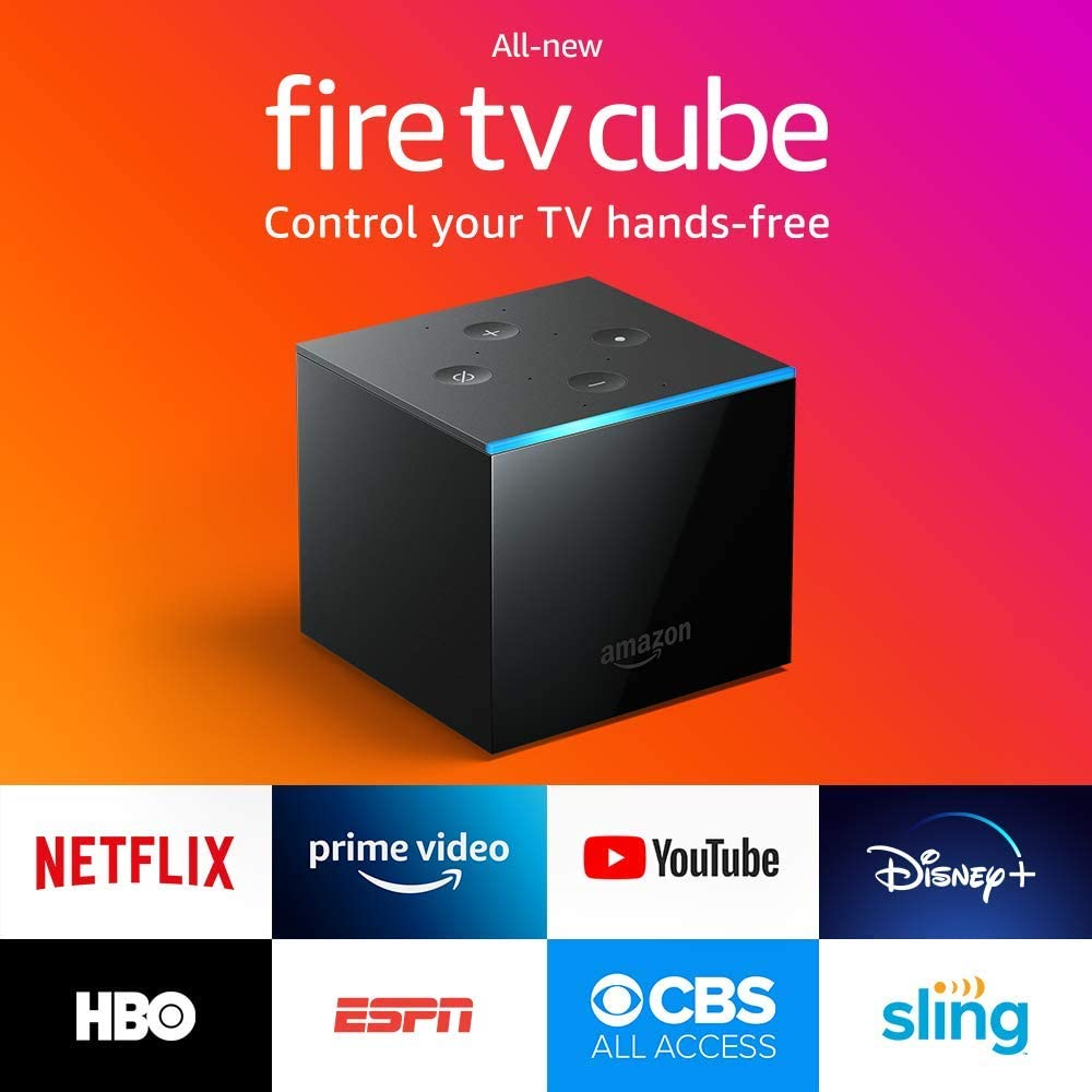 Fire TV Cube - Black