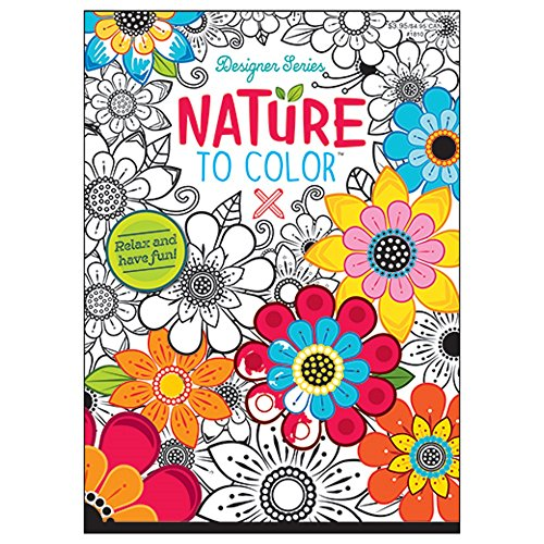 nature-to-color-coloring-book-design-series