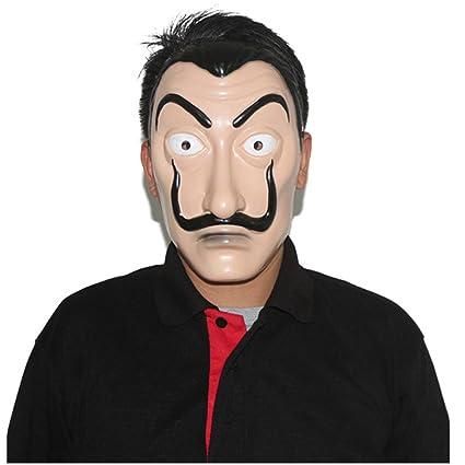 Amazon.com: x-merry toy 2018 Hot La Casa De Papel Face Mask ...