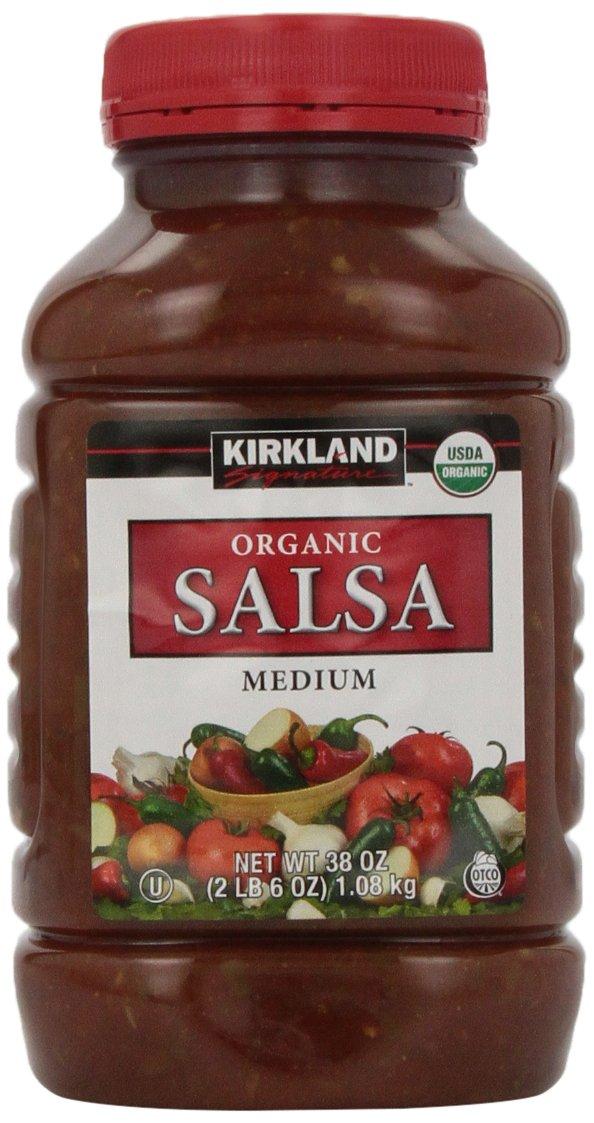 Signature's Organic Salsa, Medium, 38 Ounce (Pack of 2) by Kirkland Signature