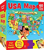 #8: MasterPieces Explorer Kids - USA Map - 60 Piece Kids Puzzle