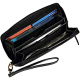 Wallet for Women with RFID Leather Wristlet Purse Card Holder Clutch Phone Wallet from AULIV