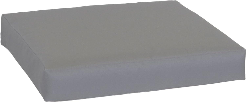 con Chiusura Lampo e Tessuto Impermeabile Colore: Antracite Cuscino per Divano beo LKP 70x70PY202 70 x 70 cm