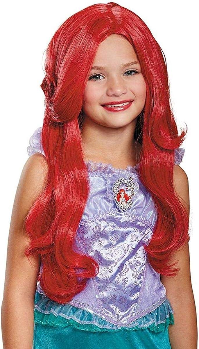 Disney Princess Ariel Little Mermaid Girls' Wig: Toys & Games