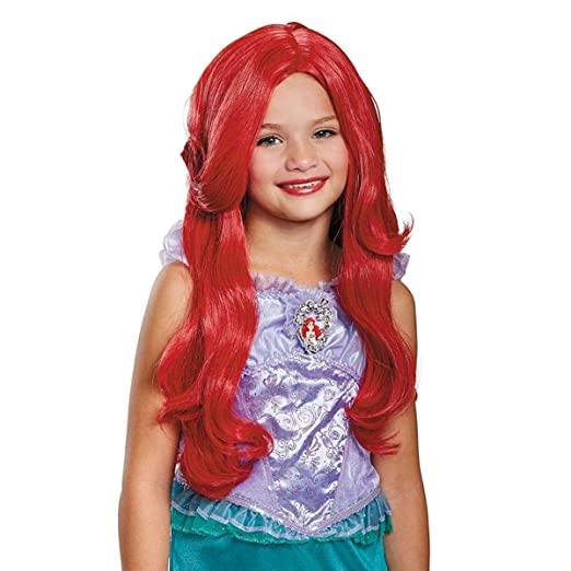 Amazon.com  Disguise Ariel Deluxe Child Wig  Toys   Games ac5008442888