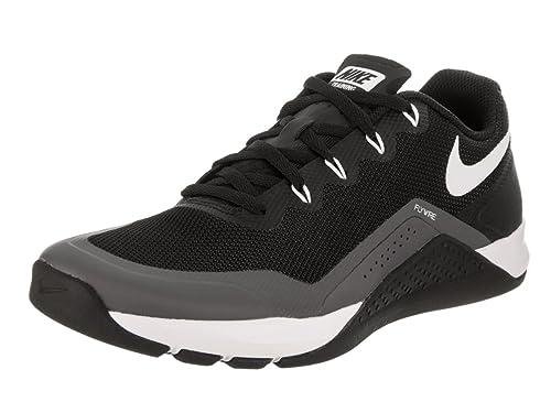9730e09ad476e Nike Women s Metcon Repper DSX Black White Dark Grey Training Shoe 6.5 Women  US  Amazon.co.uk  Shoes   Bags