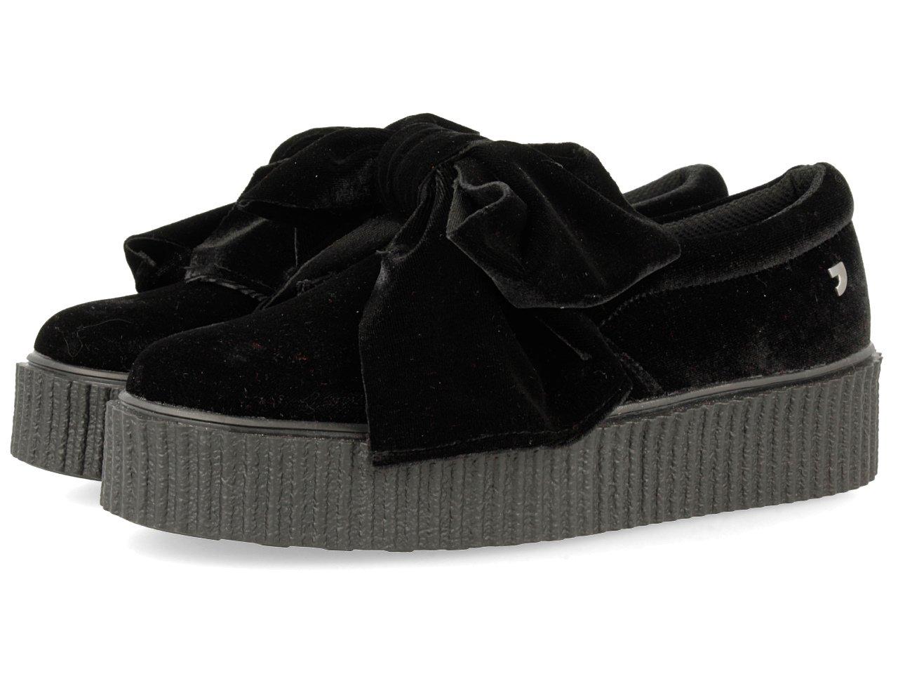 Gioseppo 30666, Zapatillas para Mujer 37 EU|Negro (Black)