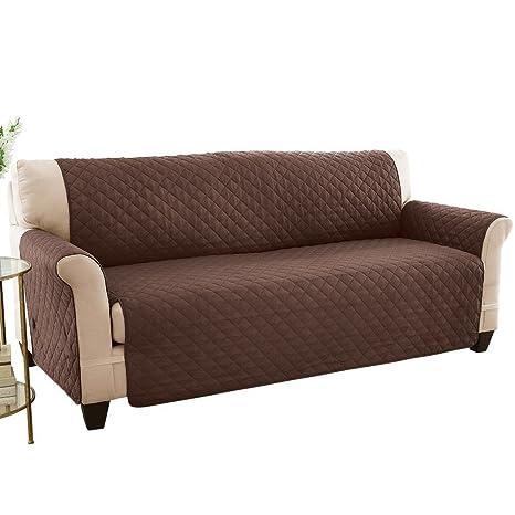 HYDBFKJUBVFU Protector de Cama para Perro,Cubiertas de Muebles Protector sillón loveseat Impermeable Resistente a