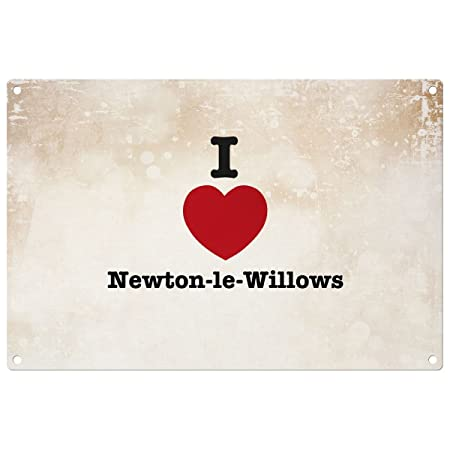 i love newton le willows decorative wall plaque ready to hang
