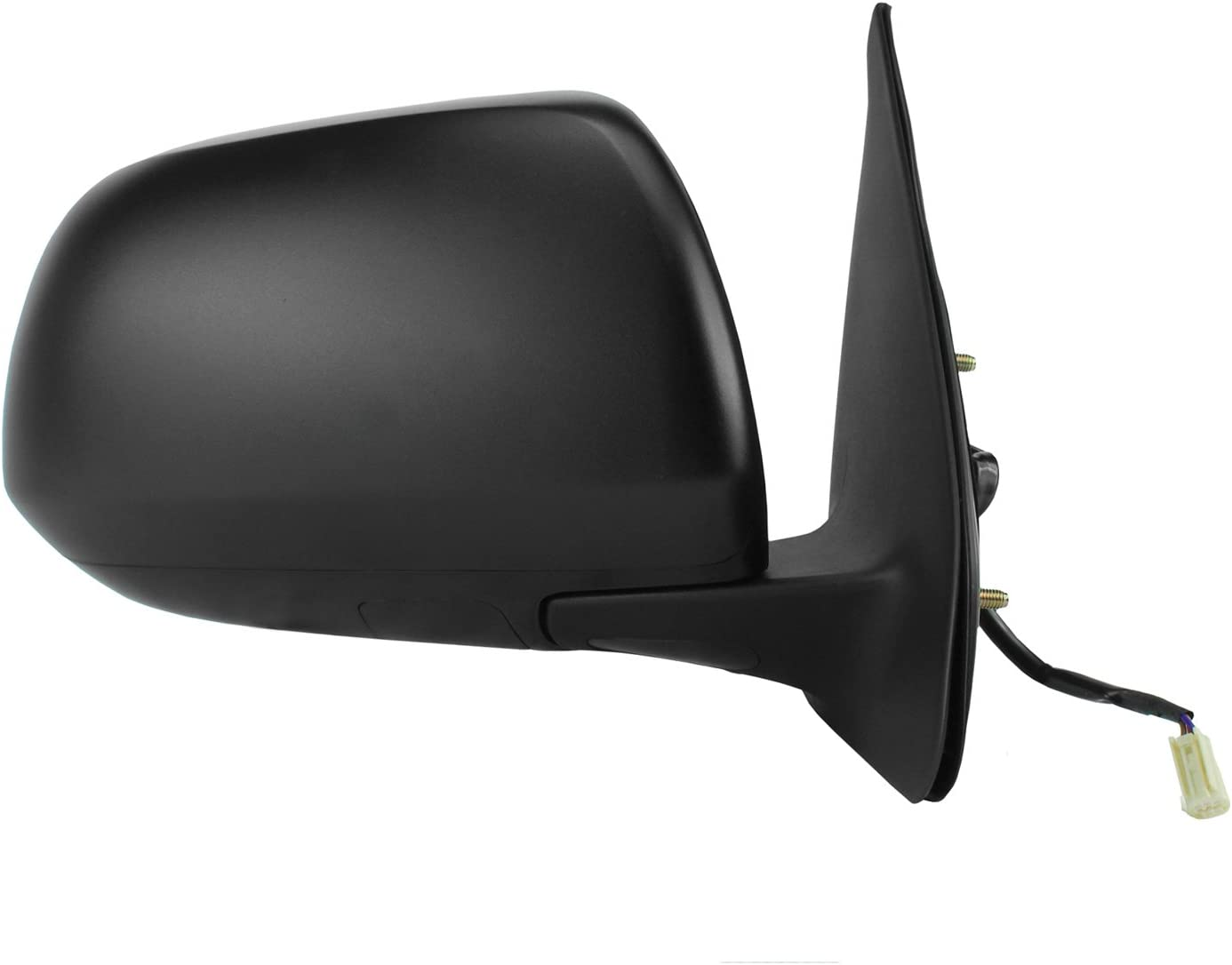 Fit System 70147T Toyota Tacoma Passenger Side Textured Black Power Replacement Mirror with Turn Signal