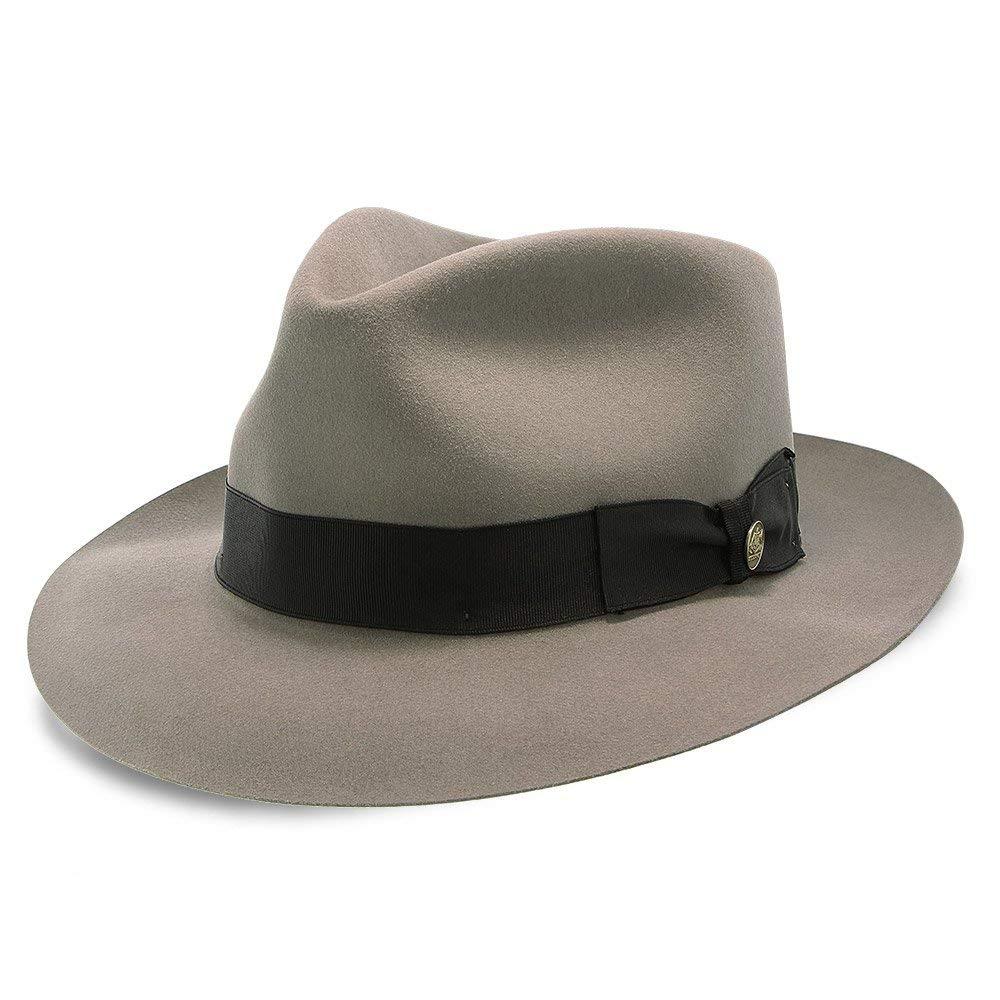 Stetson Bogie Fur Felt Fedora Hat