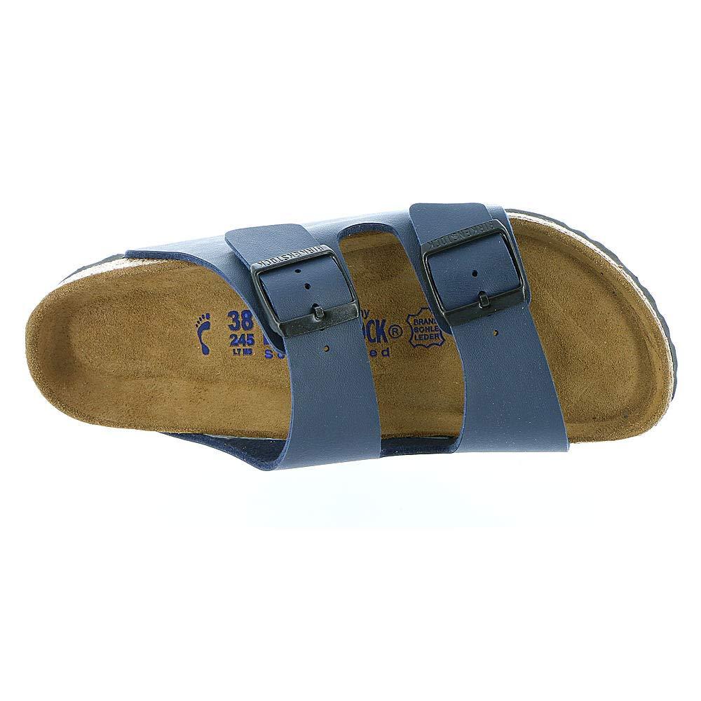Birkenstock Unisex Arizona Navy Sandals - 10-10.5 2A(N) US Women/8-8.5 2A(N) US Men by Birkenstock (Image #2)
