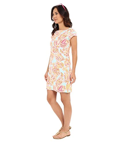 cfefca30b75343 Lilly Pulitzer Women's Loren Boat-Neck Dress at Amazon Women's Clothing  store: