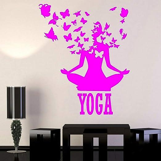 yaoxingfu Yoga Center Pose Lotus Meditación Budismo Vinilo ...